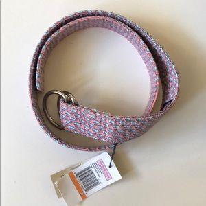 Vineyard Vines Classic D-Ring Ribbon Belt